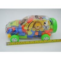 2 In 1 Mixed Colors Plastic Mini Building Block Sets Car Shaped Box Packing Manufactures