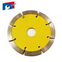 115mm V Shape Tuck Point Diamond Blades , Thick Kerf Crack Chaser Blade Manufactures
