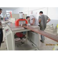 Low noise wood plastic extrusion line for floor fence decking WPC profile Manufactures