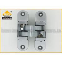 Zinc Alloy 3D Adjustable Invisible Door Hinges Hardware 180 Degree Manufactures