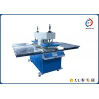 Hydraulic Embossing Four Station Heat Transfer Printer Machine For Garments Manufactures