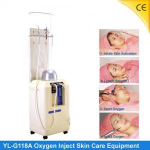 China Portable Oxygen Jet Peel Machine For Skin Rejuvenation , No Harm G118A on sale