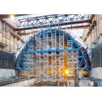 China Steel Tunnel Formwork System Stable Structure For Mining Method Tunnel Lining on sale