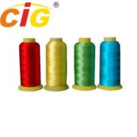 Bright Color 100% Rayon Embroidery Thread 150D/2 & 210D/2 For Garment / Bedding Manufactures