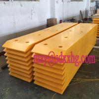 corner protection for offshore structures abrasion and impact resistant UHMWPE fender pads Manufactures