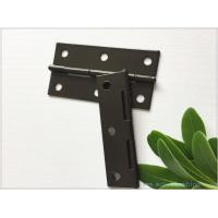 Brown Color Heavy Duty Gate Hinges Fixed Pin Water Proof Small Size Manufactures