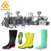 China Fully Automatic Rotary Injection Molding MachineFor 1/2 Rain Boots / Gumboots production on sale