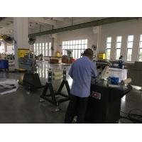 China PP Plastic Profile Extrusion Machine, Geotextile Drainage Belt Extrusion Machine on sale