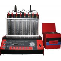 China Automatic Car Fuel Injector Cleaning Machine With Mono Injector ,8 cylinders, 50r/min on sale