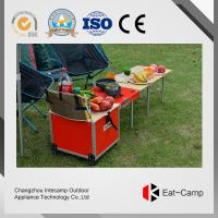 Fire Windproof Pre - Coating Folding Camp Stool With Folding Table And Chairs Manufactures