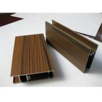 black walnut  Wooden Grain Surface Aluminum extruded profiles 6063-T5 alloy Manufactures