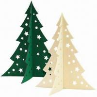 Large Christmas Tree in 5mm Felt, Laser-cut of Size 45 x 38.3cm Manufactures