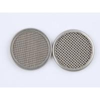 316 Stainless Steel Wire Mesh Filter Disc 1-635 Mesh For Plastic Extruder Manufactures