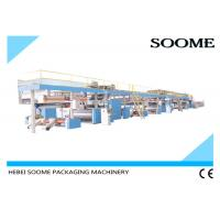 3 / 5 /7 Ply Corrugated Cardboard Production Line , Sheet Board Making Machines Manufactures