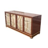 Antique Hotel Room Dresser 5 Star Hotel MDF Board With Recessed Back Panel Manufactures