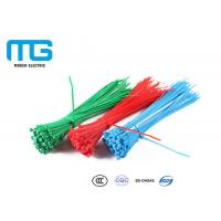 Wiring Accessories Nylon Cable Ties Heat Resistance 60mm - 1200mm Total Length Manufactures