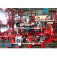 450GPM @ 125PSI Skid Mounted Fire Pump With Centrifugal End Suction Fire Pump Sets Manufactures