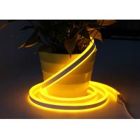 China 220V Double Sided Neon Flex Warm White 120 Leds / M Linear Lighting Design on sale
