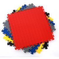 China Heavy Duty Industrial Interlocking Workshop Factory Warehouse PVC Flooring Tiles on sale