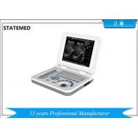 Hospital Equipment Portable Ultrasound Machine With 10.4 Inch LED Displayer Manufactures