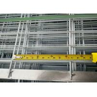 Hot Dipped Galvanized Welded Panel For Construction 5mm*60mm*60mm*1.2m*2.4m Manufactures