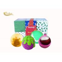 Promotion Gift Girls Bath Bomb Set , Pretty Bath Bombs For Body Relaxing Manufactures