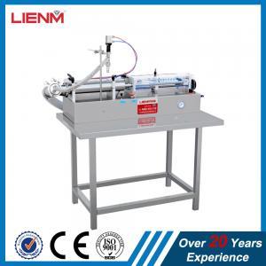 single head horizontal pneumatic liquid filling machine automatic filling machine Filling Machine,single nozzle filler Manufactures