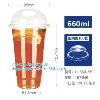coffee cups with lids organic fancy disposable paper cup PLA,CPLA Biodegradable Flat Lid For Hot Cup, bagease bagplastic Manufactures