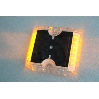12 LEDs Solar Powered Road Studs 115×105×20 MM -20°C +70°C Work Temperature Manufactures