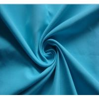 Microfiber brushed polyester fabric