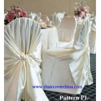 100% Polyester Satin Chair Covers Manufactures