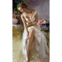 Master-Reproduction Girl Oil painting;canvas painting; custom painting from China By BBHY Manufactures