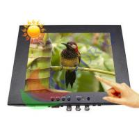 Touch Screen 8.4 Inch High Brightness LCD Monitor 1000 Nits With Rugged Housing Manufactures