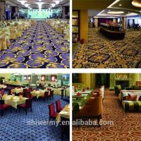 China Wholesale printed traditional nylon wall to wall carpet for bar on sale
