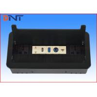 China Hidden Conference Table Electrical Outlets Flip Up For Office Furniture on sale