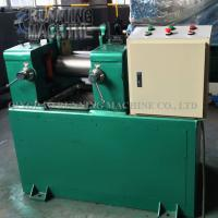 6 Inch Lab Mixing Mill Machine 320mm Working Length 5.5kw Driving Motor Manufactures