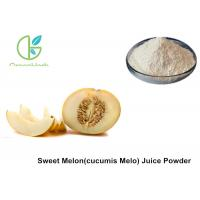 China Fruit And Vegetable Powder , Pure Sweet Cucumis Melo L Juice Powder on sale