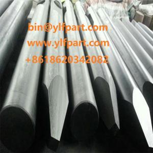 China Rammer BR321 BR422 excavator breaker 100mm chisel rod Sandvik br3288 BR623 BR825 hydraulic hammer 140mm tool bits on sale