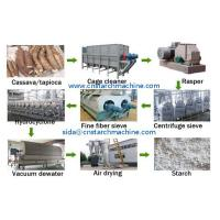 Buy cheap Machine used for starch produdction from cassava from wholesalers