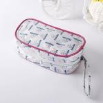 Light Weight PVC Shopping Bag With Zip / Economical Fashion PVC Zipper Bag Manufactures
