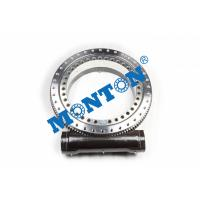 Enclosed Housing Worm Drive Slew Ring , Solar Slew Drive Compact Design Manufactures