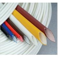 Extruded Silicone rubber fiberglass sleeving Manufactures