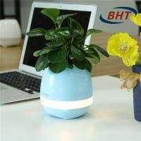 Intelligent Led Flower Pots , Music Decorative Flower Pots 12hours Playing Time Manufactures