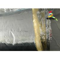 Quality Air Conditioning Aluminium Fire Retardant Flexible Round Duct Insulation Wrap for sale