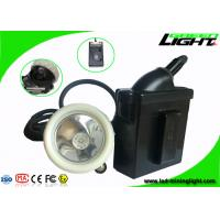 Rechargeable Underground LED Mining Light 6.6Ah 4000 Lux 1000 Battery Cycles Manufactures