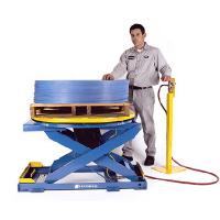 aluminum alloy hydraulic lift tables Manufactures
