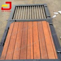 Powder Coated Black Horse Stable Stall Panel Fronts for China Manufactures