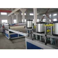 Waterproofin / Fire Retardant PVC Foam Board Machine PET Sheet Extrusion Line Manufactures
