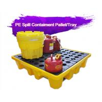 Two Drum Spill Decks Containment Pallets Heavy Duty For Oils / Chemicals Manufactures