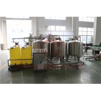 Automated Fruit Juice Making Machine With CIP Cleaning System Bottle Washing